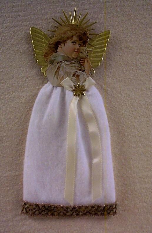 Cotton Batting Angel Ornament