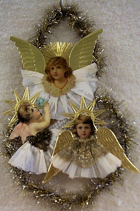 Little Angels Die-Cut Ornament