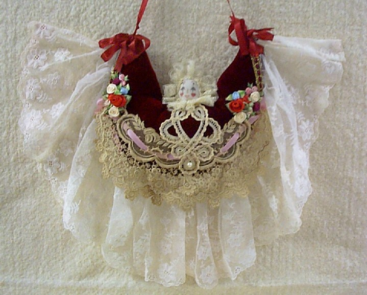 Hanging Angel Pin Cushion Ornament