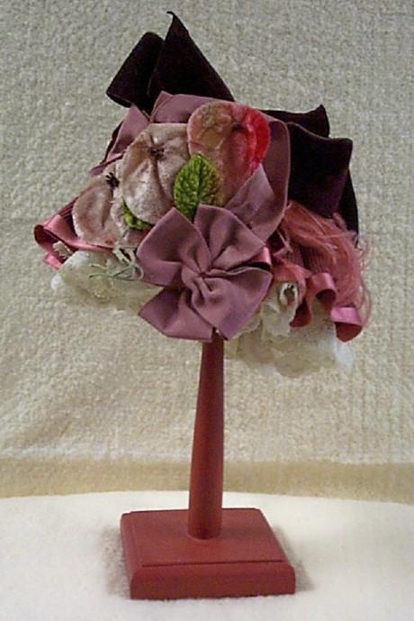 Edwardian Style Doll Hat