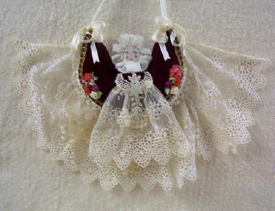 Angel Pin Cushion Ornament