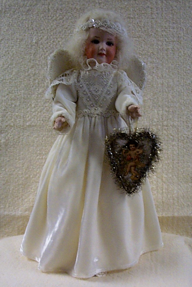 Christmas Angel Doll with Music Box