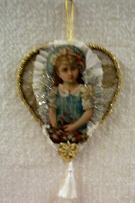 Little Girl Heart Ornament