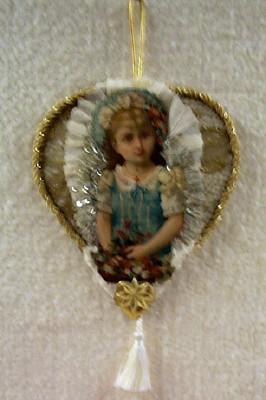Little Girl Heart Ornament