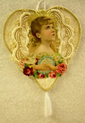 Antique Angel Cut-Out Ornament