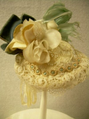 Victorian Style Doll/Miniature Hat