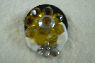Attractive Button Brooch
