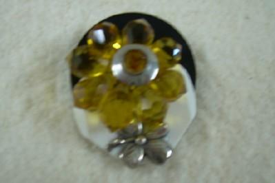 Attractive Button Brooch