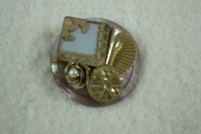 Lovely Button Brooch